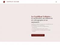 Certification en orthographe : le Certificat Voltaire