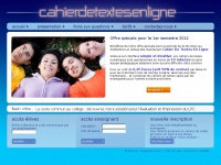 Cahierdetextesenligne.fr - Cahier De Textes En Ligne
