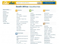 Dating classifieds south africa