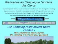 Campinglafontainedesclercs.fr