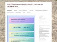 Cd68petanque.fr