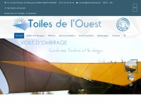 Toiles de l'Ouest - Voiles d'ombrage 44 - Toiles tendues 44   Toiles de l'Ouest près de Nantes : Voiles d'ombrage et toiles tendues 44