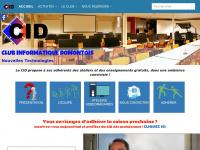 Clubinformatiquedomont.fr