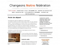 Changeonsnotrefederation.org