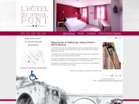 hotelduvieuxpont-mazeres.com