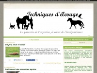 Techniquesdelevage.fr