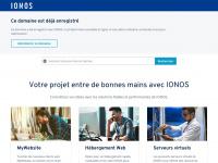1&1 Internet - Hébergement Web, enregistrement noms de domaine et services Web