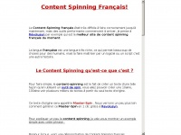 Content-spinning-francais.fr