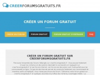 Creerforumsgratuits.fr