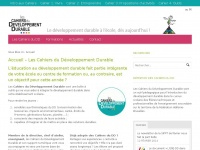 cahiers-developpement-durable.be