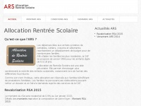 Ars-allocation-rentree-scolaire.fr