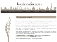 translationservices.be