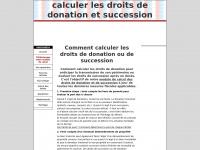 droits-donation-succession.fr