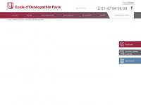 ecole-osteopathie-paris.fr