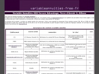 variableannuities.free.fr