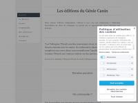 Editionsdugeniecanin.fr