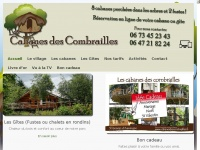 cabanesdescombrailles.fr Thumbnail
