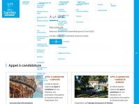 ville-saintes.fr