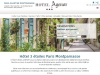 agenor-paris-hotel.com