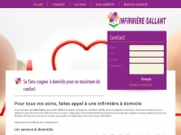 infirmiere-gallant.be