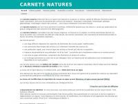 Carnetsnatures.fr