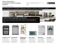 hotpoint-piecesdetachees.fr