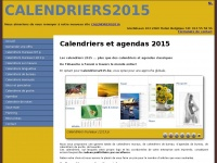 calendriers2015.be