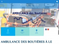 ambulancesdesboutieres.fr