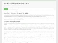 Matelas-memoire-de-forme.info