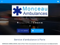 monceau-ambulances-paris.com