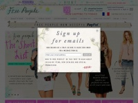 freepeople.com Thumbnail