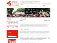 sfa-cgt.fr Thumbnail