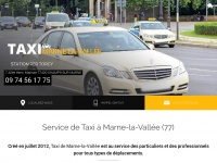 taxis-marnelavallee.com