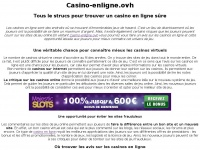 Casino-enligne.ovh