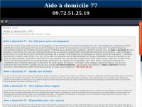 Aideadomicile77.fr