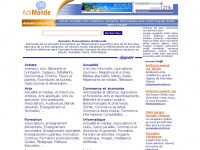 Annuaire francophone Actimonde - référencement de sites francophones