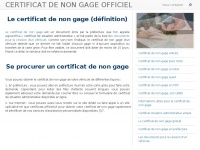 Certificats-officiels.fr