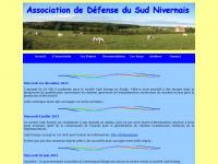 Site officiel de l'ADSN, Association de Défense du Sud Nivernais