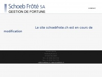 schoebfrote.ch
