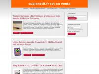 subjonctif.fr