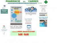pharmaciedescarmes.fr