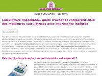 Calculatrice-imprimante.fr