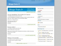 Blogs-train.fr