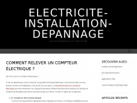 electricite-installation-depannage.fr
