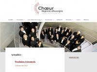 Choeur-regional-auvergne.fr