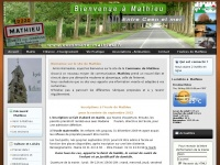 Site officiel de la commune de Mathieu - Calvados, Basse-Normandie