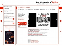 concertsdesther.fr