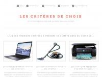 les-criteres-de-choix.com
