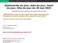 ephemeride-jour.fr