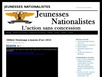 jeunesses-nationalistes.fr